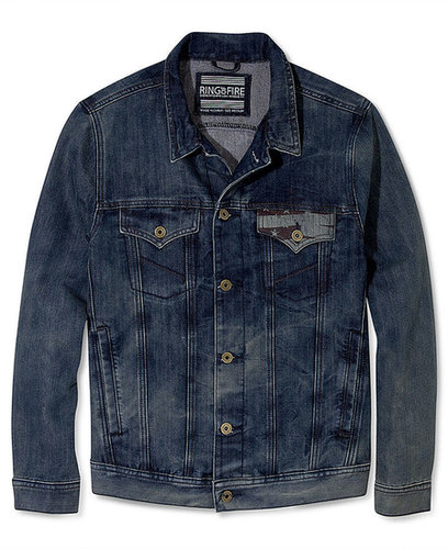 Ring of Fire Coat, Americana Denim Jacket