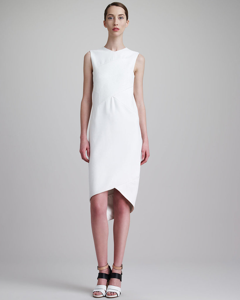 Dress, approx $2,174, Narciso Rodriguez at Neiman Marcus.