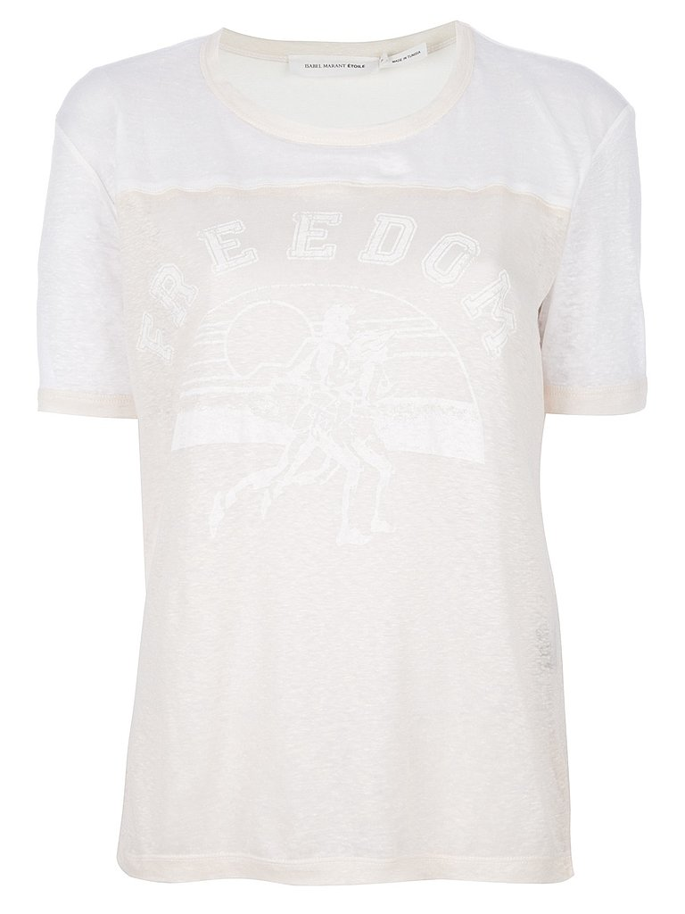 Get a look like Dree's with this white-on-white Étoile Isabel Marant style ($210).