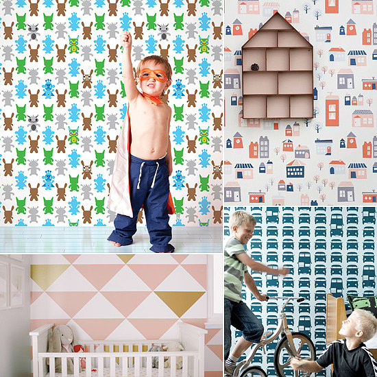 Commitment-Free Temporary Wallpaper For Kids' Rooms