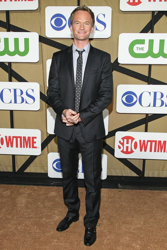 How I Met Your Mother star Neil Patrick Harris attended the TCA party thrown by The CW, CBS, and Showtime.