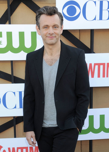 Michael Sheen stopped by the Showtime party during the Summer TCA Press Tour.