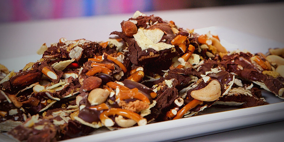 Beat Afternoon Hunger Pangs With Office Junk Food Bark