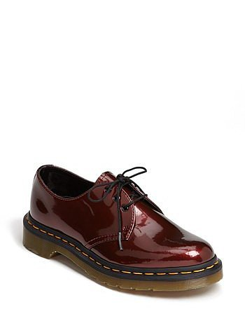 Dr. Martens '1461 W' Oxford Cherry Red 9 M