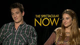 "The Spectacular Now's Shailene Woodley and Miles Teller: ""We're Polar Opposites"""