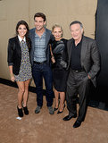 Amanda Setton, James Wolk, Sarah Michelle Gellar and Robin Williams
