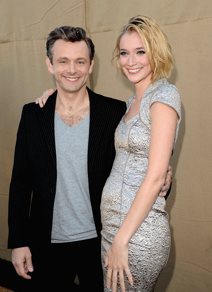 Michael Sheen and Caitlin Fitzgerald