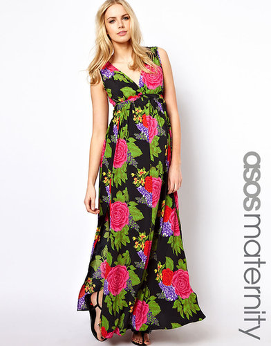 ASOS Maternity Maxi Dress In Large Floral