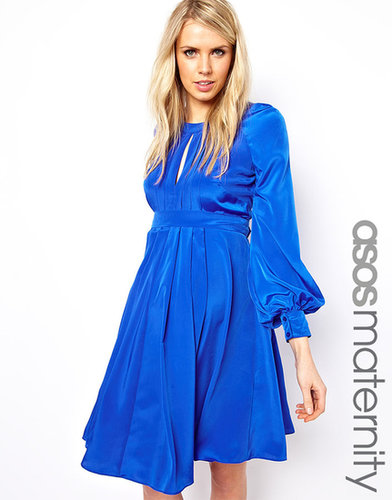 ASOS Maternity Dress With Bell Sleeve