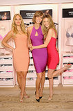 Erin Heatherton, Karlie Kloss, and Behati Prinsloo were a rainbow of pretty, flirty hues at the New York Body by Victoria Secret celebration.