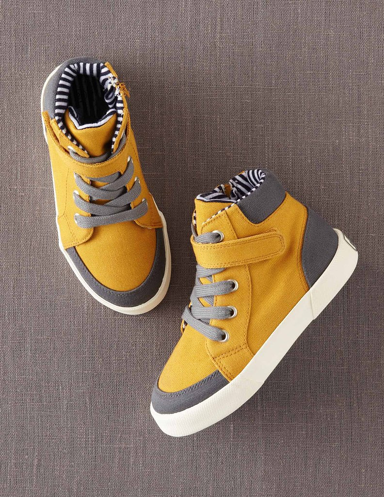 Mini Boden Canvas High-Tops