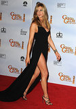 Aniston absolutely owned the va-va-voom Valentino creation she chose for the 2010 Golden Globe Awards. Between the gown's gam-baring slit and asymmetrical neckline, Jennifer definitely had tails wagging.