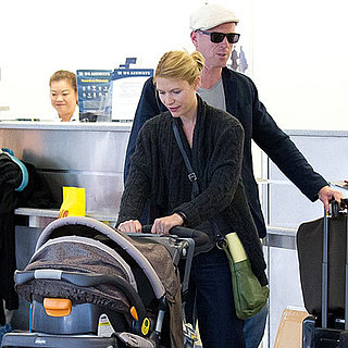 Claire Danes and Damian Lewis Travel Out of LAX Together