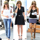 Jennifer Aniston's Big Apple Summer on Set