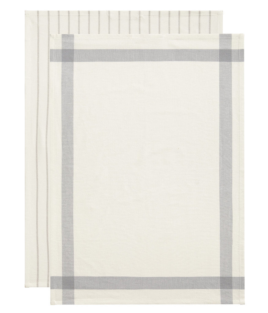Perhaps the most Swedish-looking thing to ever come out of H&M, this  pair of cotton tea towels ($5) has beautiful pale gray stripes.