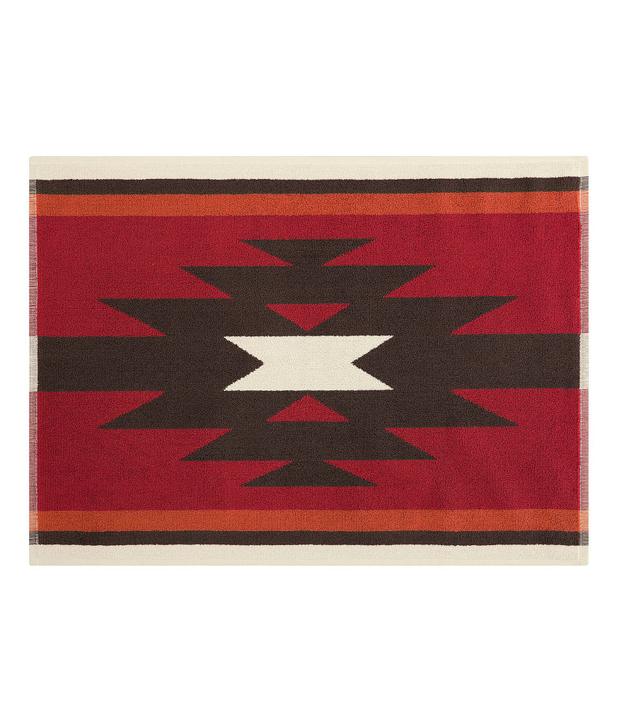 We are wild about this Southwest-inspired terrycloth bath mat ($10)!