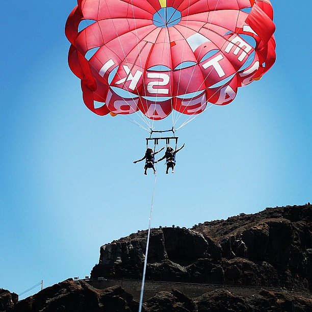 Parasail Over the Ocean