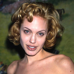 Celebrity Hair, Beauty, Makeup Retrospective: Angelina Jolie