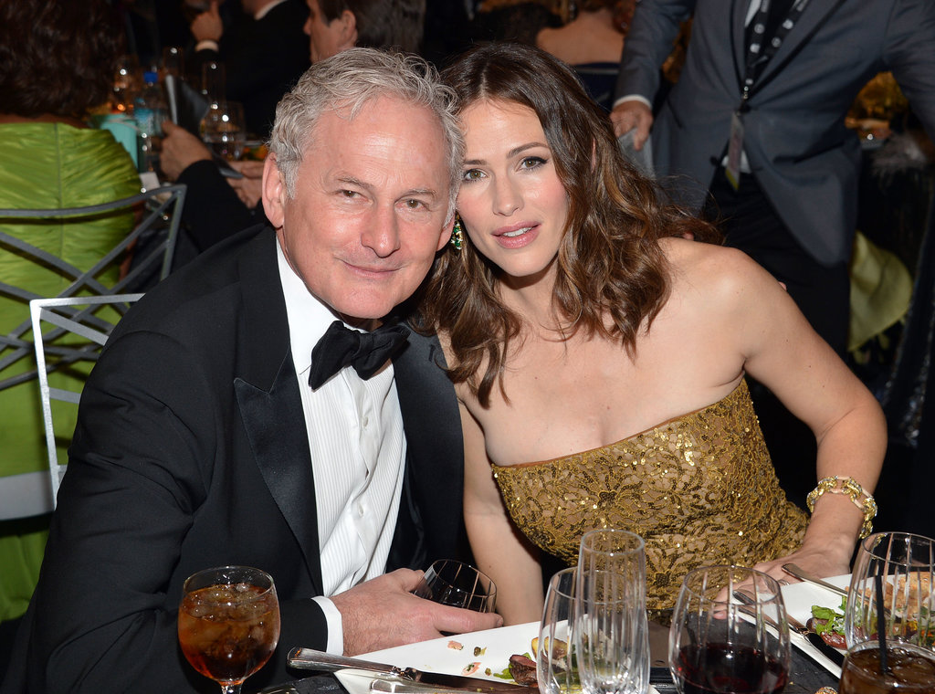 Victor Garber and Jennifer Garner have remained close since starring as father and daughter in Alias (he even officiated her 2005 wedding to Ben Affleck!). When Jennifer gave birth to her older daughter Violet later that year, she turned to her longtime friend Victor to be the baby's godfather.