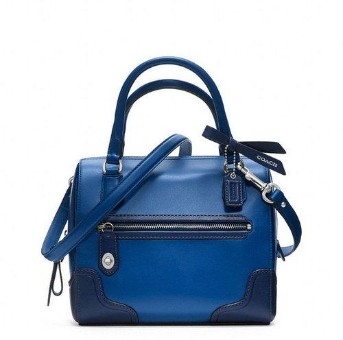 Poppy Colorblock Leather Mini Satchel