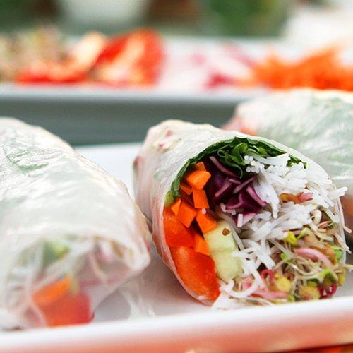 Vegetarian Spring Roll Recipe