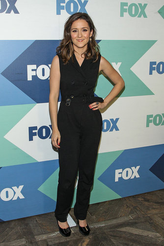 Shannon Woodward arrived the Fox All-Star Party during the Summer TCA Press Tour.