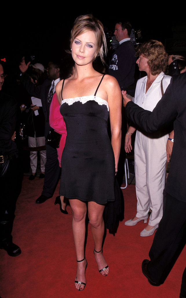 Charlize Theron was still technically an unknown when she attended the Two Days in the Valley premiere in LA back in September 1996.
