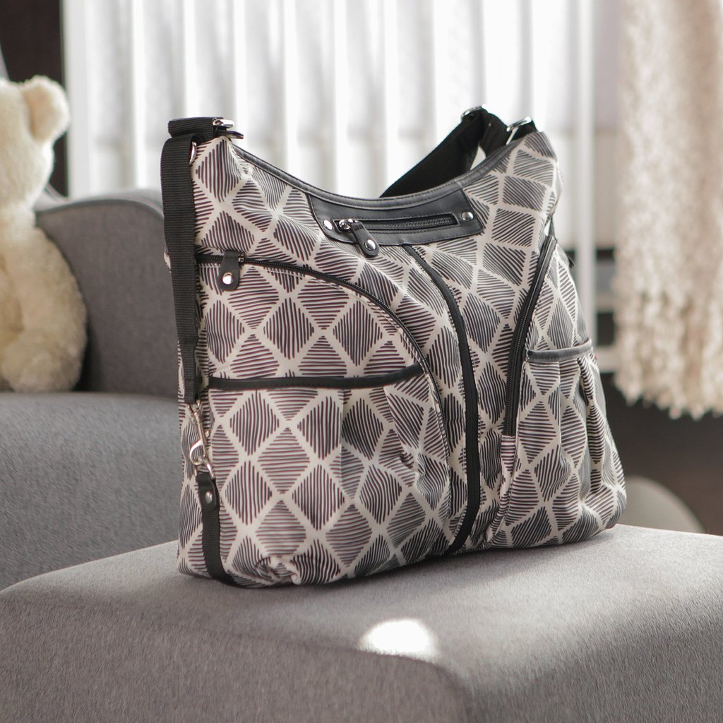 Skip Hop Versa Sketch Diamond Diaper Bag