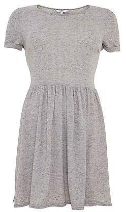 Grey Skater T-Shirt Dress