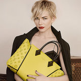We're dying over the stunning Michelle Williams's Louis Vuitton campaign images.  Photo courtesy of Louis Vuitton