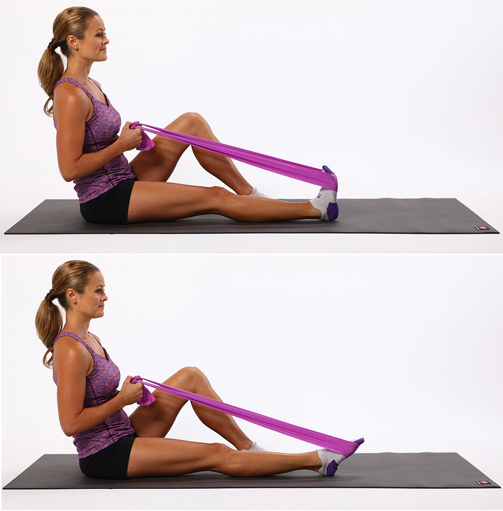 Plantar Flexion With Resistance Band