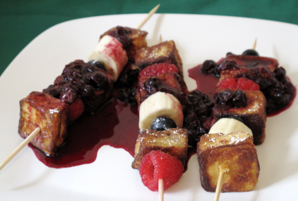 Berry French Toast Skewers