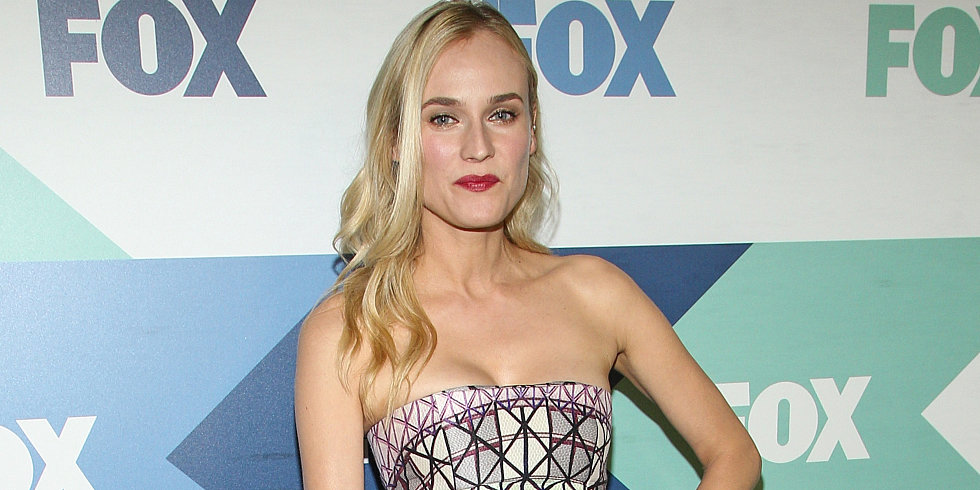 Diane Kruger Gets Daring in Her Printed Dress — See It to Believe It!