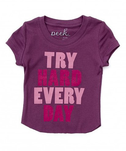 Baby Try Hard Everyday Tee ($28)