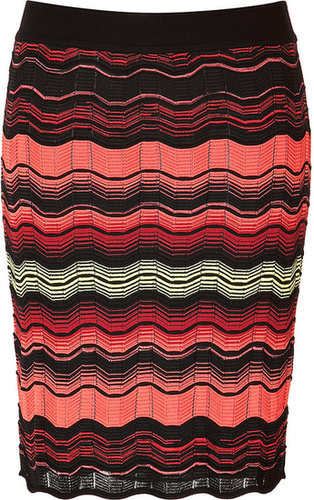M Missoni Variegated Knit Skirt