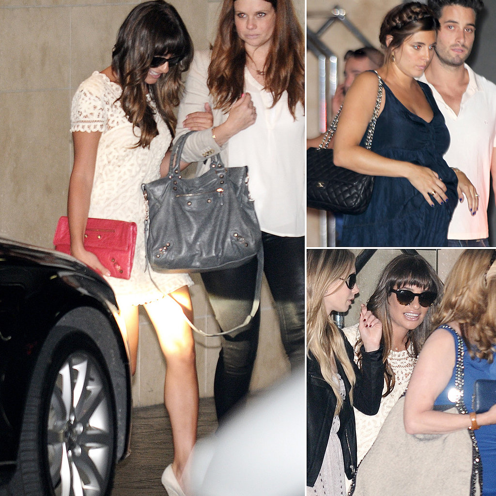 Cory Monteith Death Photo Leaked Lea michele shows her support