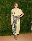 Chloë's nature-inspired Suno dress was a forward-thinking choice for the CFDA/Vogue Fashion Fund Awards.
