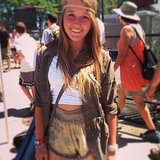 Who wears short shorts? Everyone at Lollapalooza!  Source: Instagram user POPSUGARFashion