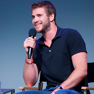 Liam Hemsworth at Paranoia Press Conference in NYC