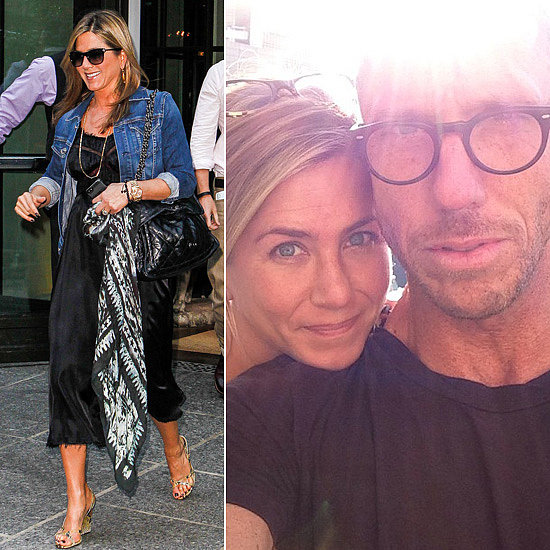 Jennifer Aniston Goes Makeup-Free Before a Big Apple Press Day