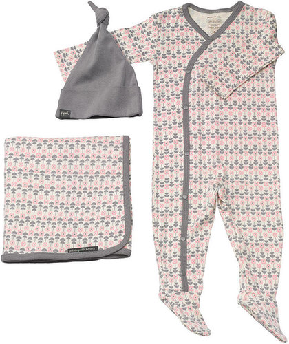 Bloom Snuggle Set Layette - Blush
