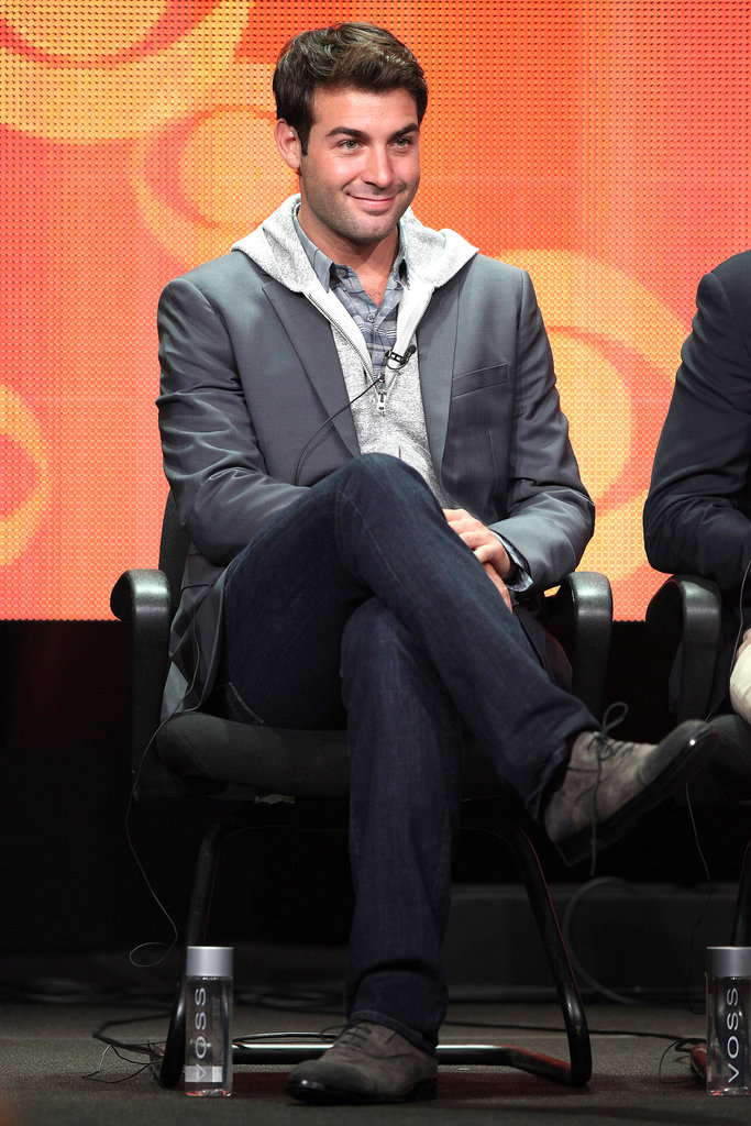 "James Wolk ""I only do ad agencies now. I only do strictly marketing and advertising."" — Addressing the fact that he also played an ad man on Mad Men, at the panel for The Crazy Ones"