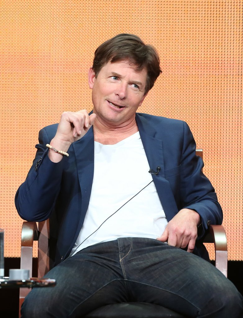 "Michael J. Fox ""No, I haven't seen that. I hear it's really serious and scary."" — On whether he's seen Teen Wolf, during the panel for The Michael J. Fox Show"