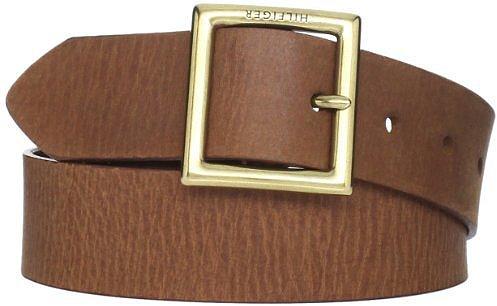 Tommy Hilfiger Women's Square Buckle Belt