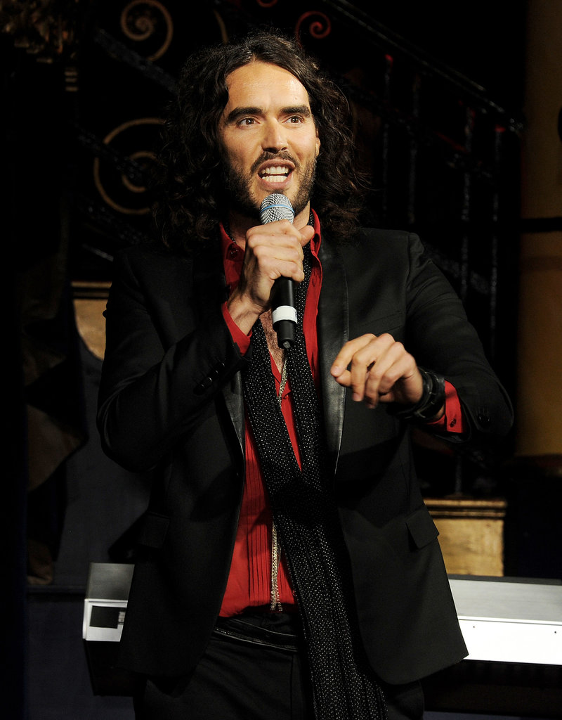 Russell Brand took some not-so-nice jabs at ex-wife Katy Perry during a July 2013 stand-up routine at London's Soho Theatre. During the show, he joked about how he considered becoming a monk after the couple's 2011 divorce, saying,