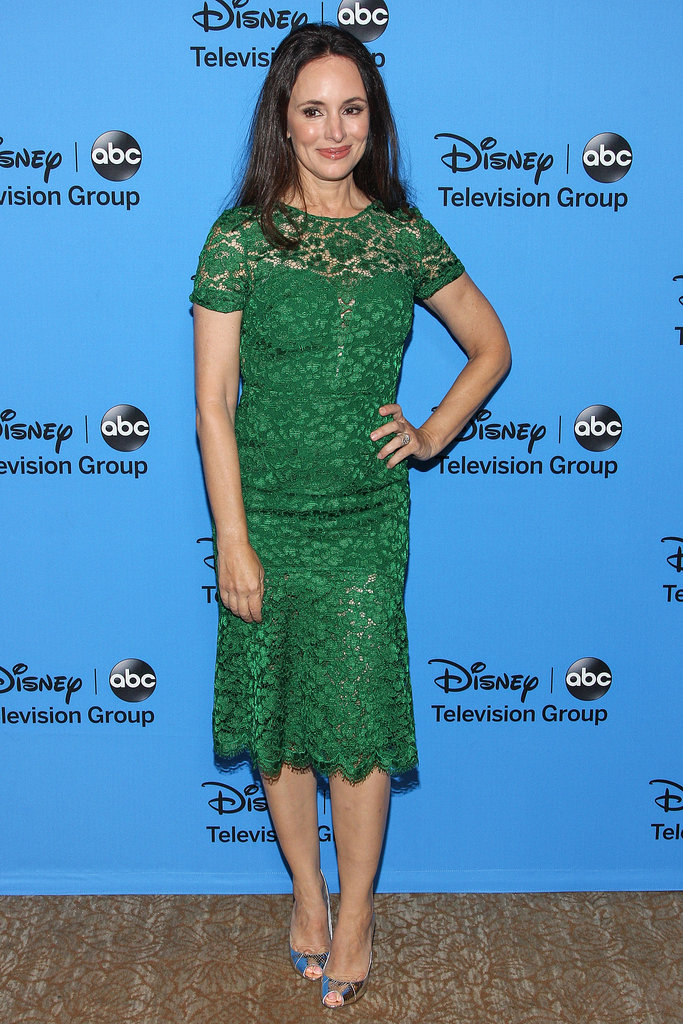 Madeleine Stowe was at the Summer TCA Press Tour in LA.