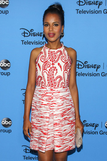 Kerry Washington attended the party hosted by the Disney/ABC Television Group at the Summer TCA Press Tour.