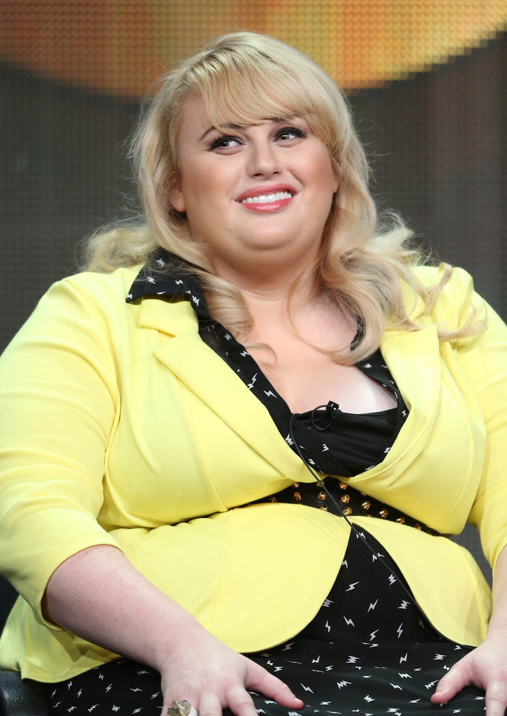 Rebel Wilson spoke onstage during the Super Fun Night panel discussion.