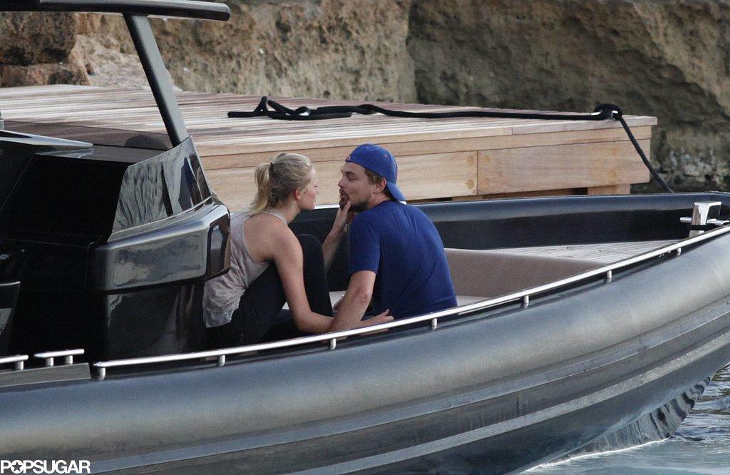Leonardo DiCaprio and Toni Garrn got close in Spain.