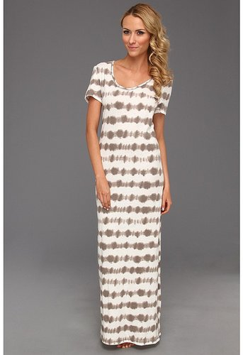 P.J. Salvage - Escape To Santa Fe Maxi Lounge Dress (Stone) - Apparel